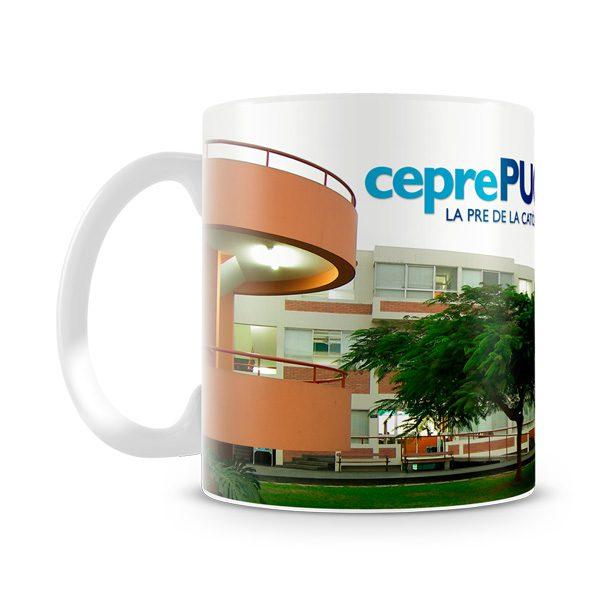 Taza personalizada Ceprepuc vista izquierda