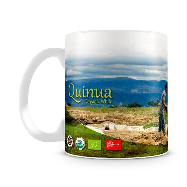 Taza personalizada para Wiraccocha del Perú vista izquierda