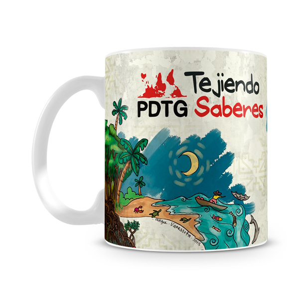 Taza Programa Democracia Global